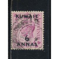 GB Кувейт Протекторат 1948 GVI Надп Стандарт #70