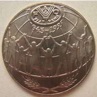 Андорра 25 сантимов 1995 г. ФАО