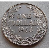 Либерия. 1 доллар 1968 год КМ#18а2