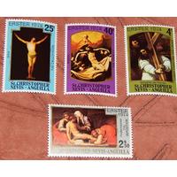 1974 Невис Живопись Религия **