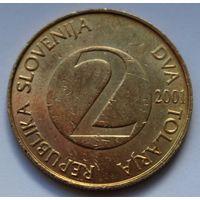 Словения, 2 толара 2001 г.