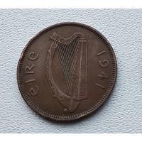 Ирландия 1/2 пенни, 1941  4-12-22