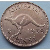 Австралия. 1 пенни 1939