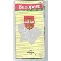Карта Будапешта (Венгрия)