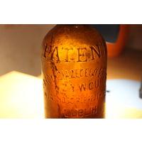 Пивная бутылка Patent arcykciazececo browaru  w Zywcu wlasnosc reprezentacji Lublin