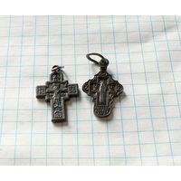 Крестики серебро