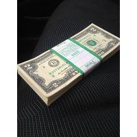 Упаковка банкнот 2$