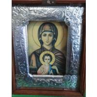 Икона Знамение киотная. 280*235 мм