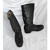 Сапоги армейские юфтевые яловые офицерские из СССР, размер 41 - 42