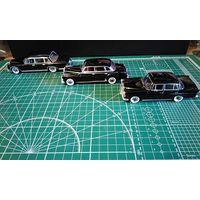 "Продам Mercedes-Benz 600 (1964) +Mercedes-Benz 300 D ""Adenauer"" (1957)+Mercedes-Benz 200 D (1965) Ixo\atlas\altaya"