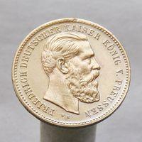 Немецкий жетон с императором Фридрихом