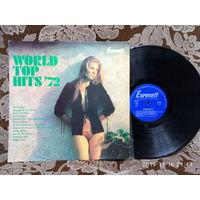 Виниловая пластинка WORLD TOP HITS'72