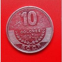 52-08 Коста-Рика, 10 колон 2012 г.