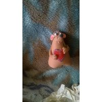 Мышка с сердечком (керамика)