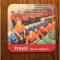 Подставка под пиво Tyskie No 10