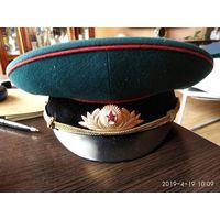Офицерская парадная фуражка ВС СССР