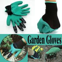 Садовые перчатки с когтями. распродажа