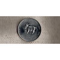 Сомали 10 шиллингов 2000/фауна/КОЗА(Ah)