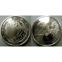 Финляндия, 2 евро 2016 Эйно Лейно