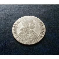 Речь Посполитая, 6 грошей 166. г., серебро, Ян II Казимир (1648-1668)