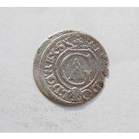 Шиллинг 1634 Рига Густав Адольф Прибалтийские владения Швеции