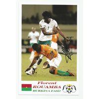 Florent Rouamba(Буркина-Фасо). Фотография с живым автографом #3