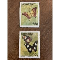 Намибия 1993. Бабочки. Полная серия