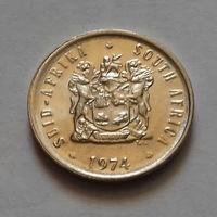 5 центов, ЮАР 1974 г., AU