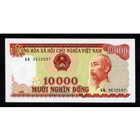 Вьетнам 10000 донг 1993 г пресс UNC. распродажа