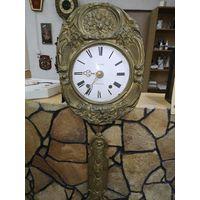 Часы напольные с 1 рубля только механизм , можно как настенные использовать.