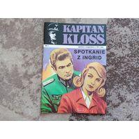 """Полькі комікс па фільму """"Ставка больше чем жизнь"""" N7 ад 1971 году (рэпрынт 2002)  Kapitan Kloss"""
