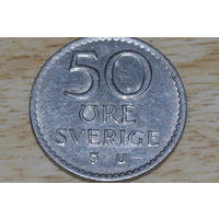 Швеция 50 эре 1969