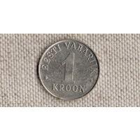 Эстония 1 крона 1993/(Uss)