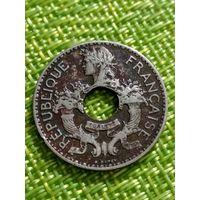 Французский индокитай 5 центов 1937 г