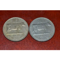 Гернси 10 пенсов 1977