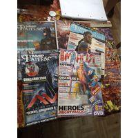 Три номера журнала Мир фантастики и журнал Игромания