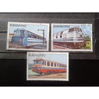 Буркина Фасо 1985 Локомотивы