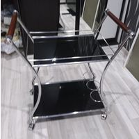 Сервировочный стол закаленное стекло только самовывоз