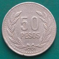 50 песо 2003 КОЛУМБИЯ
