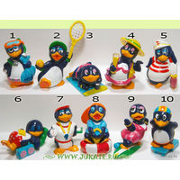 Киндер полная серия Пингвины летние