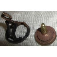 Дворянская печать бронза и основы для 2 печатей