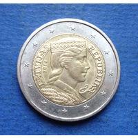 Латвия 2 евро 2014