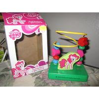 Лабиринт с игрушкой деревянный My Little Pony. Hasbro