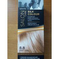 Стойкая крем-краска для волос Шелковое окрашивание, тон 8.8. Бежевый блонд