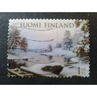Финляндия 2007 живопись