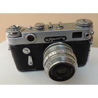 """Фотоаппарат """"Зоркий 6"""" номер 6300188826. Исправный."""