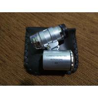 Микроскоп карманный с подсветкой х 60 (+ ультрафиолет )