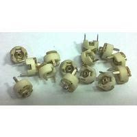 Подстроечный конденсатор ((цена за 10 шт)) Предположительно кт4-25б, 1-8 пф