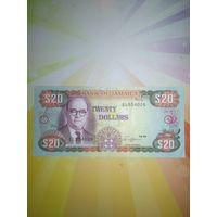 Ямайка 20$  нечастая