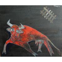 """Картина """"Священная корова"""""""